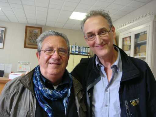 Bugarach - France 2012-10-12 Speakers at FECRIS Convention: Steven Hassan & Roberto di Stefano